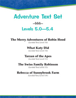 Adventure Text Set (Level 5.0-5.4)