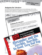 Alexander and the Terrible, Horrible - Leveled Comprehensi