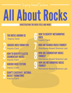 All About Rocks - Investigating the Rock Cycle and More