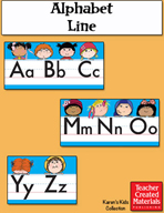 Alphabet Line by Karen's Kids