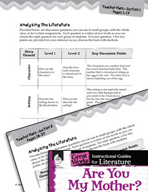 Are You My Mother? Leveled Comprehension Questions (Great