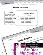 Are You My Mother? Reader Response Writing Prompts (Great