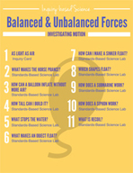 Balanced and Unbalanced Forces - Investigating Motion