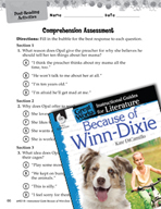 Because of Winn-Dixie Comprehension Assessment (Great Work