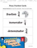 Brain-Powered Lessons - Basic Fraction Concepts
