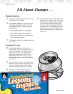 Brain-Powered Lessons - Physical and Chemical Changes