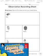 Brain-Powered Lessons - What Do You Observe