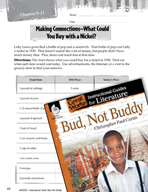 Bud, Not Buddy Making Cross-Curricular Connections (Great