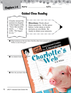 Charlotte's Web Close Reading and Text-Dependent Questions