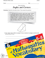 Content-Area Vocabulary Mathematics - Bases gon- and angl-