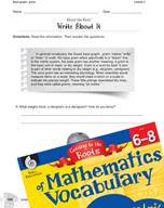 Content-Area Vocabulary Mathematics - Bases graph-, gram-