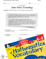 Content-Area Vocabulary Mathematics - Numerical Bases dec(