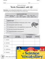 Content-Area Vocabulary Science - Base bi(o)