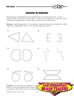 Critical Thinking Activities Geometry - Congruent, Similar