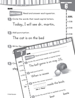 Daily Language Practice for First Grade (Week 2)