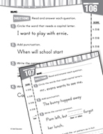 Daily Language Practice for First Grade (Week 22)
