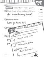 Daily Language Practice for Kindergarten (Week 36)