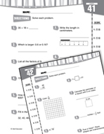 Daily Math Practice for Fourth Grade (Week 9)