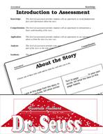 Dr. Seuss Literature Activities - Assessments