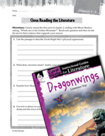 Dragonwings Close Reading and Text-Dependent Questions (Gr