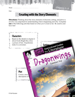 Dragonwings Studying the Story Elements (Great Works Series)
