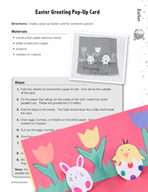 Easter Puzzles and Activities (3–5)