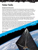 Energy Inquiry Card - Solar Sails