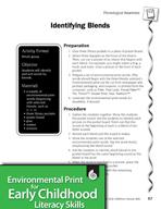 Environmental Print and Phonological Awareness: Identifyin