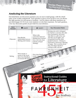 Fahrenheit 451 Leveled Comprehension Questions (Great Work