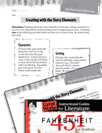 Fahrenheit 451 Studying the Story Elements (Great Works Series)