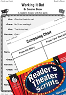Families-Working It Out Reader's Theater Script and Lesson
