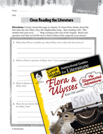 Flora and Ulysses - Close Reading and Text-Dependent Quest