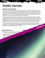 Forces and Motion Inquiry Card - Earth's Auroras