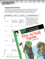 Frog and Toad Together Leveled Comprehension Questions (Gr