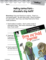 Frog and Toad Together Making Cross-Curricular Connections