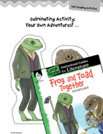 Frog and Toad Together Post-Reading Activities (Great Work