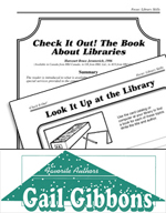 Gail Gibbons Literature Activities - Check It Out! The Boo