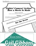 Gail Gibbons Literature Activities - Lights! Camera! Actio