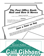 Gail Gibbons Literature Activities - The Post Office Book: