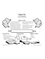 Gator Pie - Chocolate Marshmallow Pie Recipe