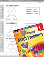 Geometry Leveled Problem: 2-D Shapes - Build a Design