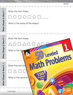 Geometry Leveled Problem: Geometric Patterns - What Shape