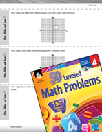 Geometry Leveled Problems: Flips, Slides, and Turns