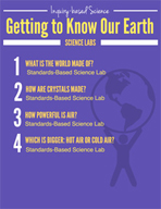 Getting to Know Our Earth Inquiry Science Labs