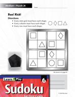 Grade 1 Medium Sudoku Puzzles 26–30