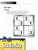 Grade 2 Medium Sudoku Puzzles 16–20