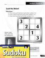 Grade 2 Medium Sudoku Puzzles 21–25