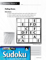Grade 4 Easy Sudoku Puzzles 11–15