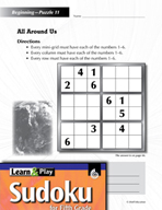 Grade 5 Easy Sudoku Puzzles 11–15