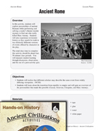 Hands-On History - Ancient Rome